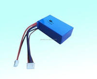 RC helicopter7.4V 600mah LiPO battery with charger for airplane