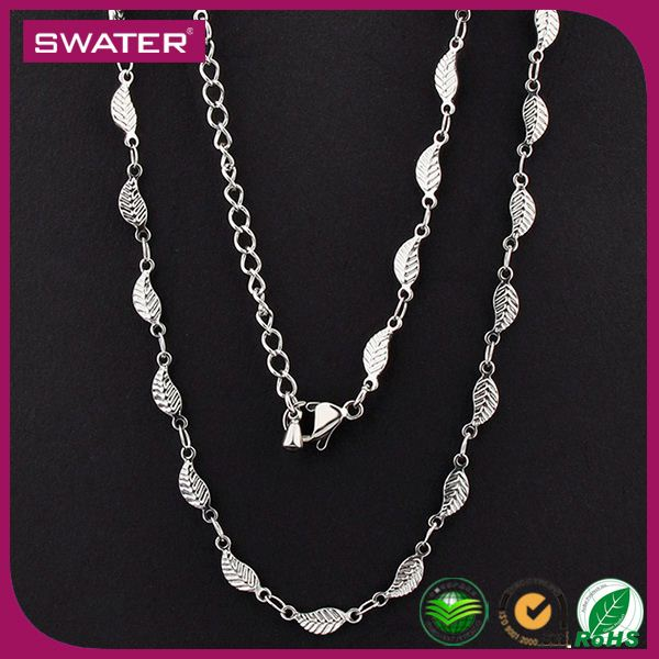 Best Selling Jewelry Leaf Silver Waist Chain