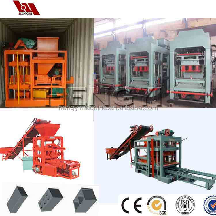 German concrete block making machine with ideal models