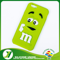 Custom printed silicone mobile phone case