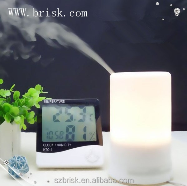 100ml Ultrasonic Essential Oil Diffuser And Mini Humidifier With Warm White LED Lights BK-EG-FD03