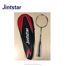High Quality Custom Logo Full Carbon graphite Fiber badminton racket professional rackets with PU grip