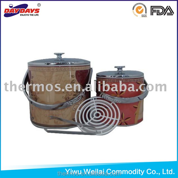 Metal body ice box/ice bucket/metal cooler box
