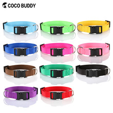 Pet accessary nylon pet collar and leash made in China