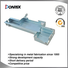 Chinese custom-made straight metal bracket with galvanized surface