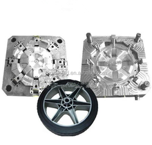 plastic car wheel cover moulds making ,auto plastic wheel injection molding/moulds manufacturer