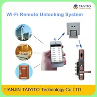2015 TAIYITO Long Distance Wireless Remote Control Door Lock Network Wireless Door Lock