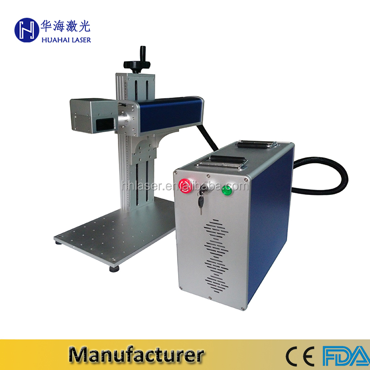 Professional laser machine manufacturer High Speed hand held laser marking machine on ceramic for date/bar code/serial number