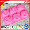 Silicone baking sets chocolate molds, jiangmen silicone pudding mold, safe silicone cake mould