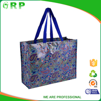 Retro Design Of plastic tote Shopper bag