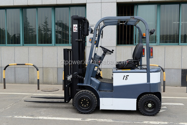 1.5-3.5 ton electric battery forklift truck 48V AC