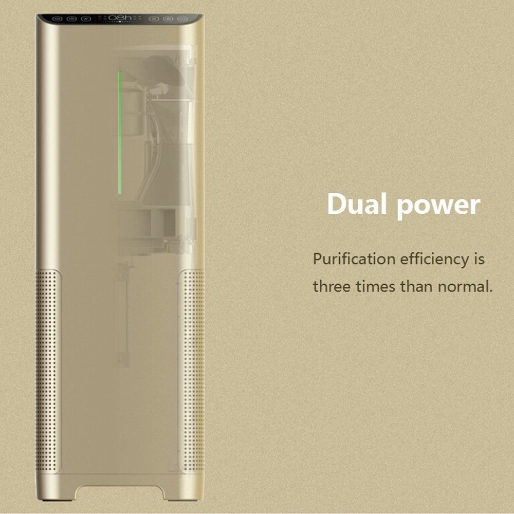STR-AP0201 professional household air purifier+UVC+negative ion+photocatalyst+True Hepa/activated carbon filter