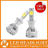 2014 Newest & brightest mt-g2 led head light 35W 3200LM D2S automobile led headlight