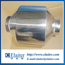 Construction machine diesel engine smoke wall flow particulate filter catalytic converter