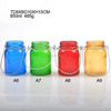 2016 Glass candle holder home decoration- handcraft candle holder with color