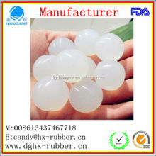 2015 High Quality Eco-Friendly Bouncy Silicone Rubber Ball