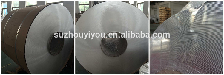 High quality alu foil for transformers from E U Metal China