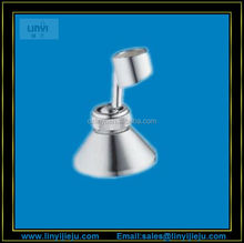 free adjustable plastic chrome plating wall mount bracket hand shower holder/hand shower accessories