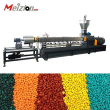 Stainless Steel Twin Screw Fish feed dog pet food extruder/small extrusion machine