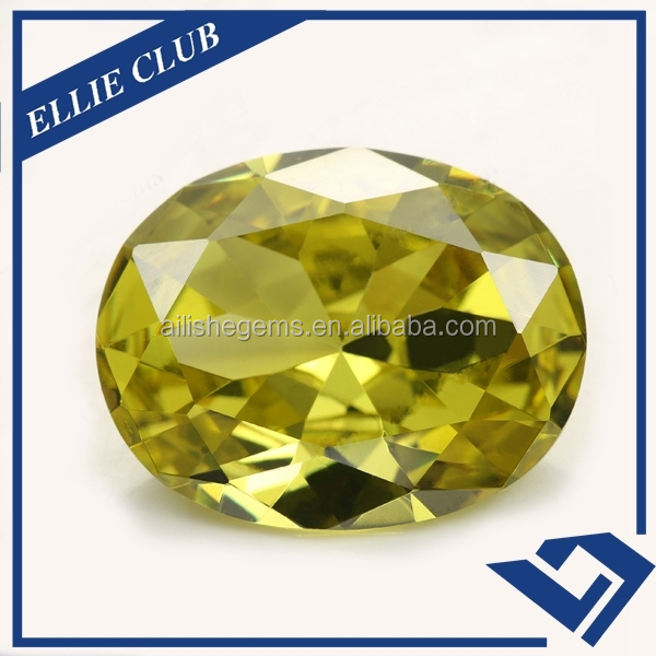 Oval cut cubic zircon in loose rough diamonds price