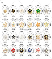 fashion nail art transfer foil sticker Nail Art 16 Tips Wrap Glitter Sticker
