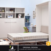America Modern Hidden Wall Bed With Table With Divan
