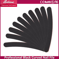 Factory wholesale professional manicure black 7 inch diamond deb foot files
