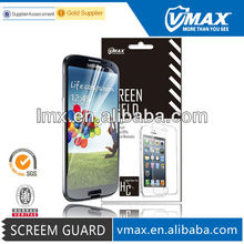 TFT lcd clear screen protector for Galaxy s4 oem/odm (High Clear)
