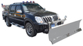 Pickup Truck mounted Hydraulic Snow Plow and Spreader