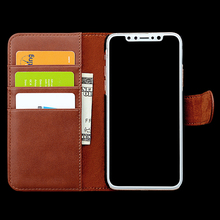 New Design for Iphone X Leather Case ,Mobile PHone Case Wallet Leather for Iphone X