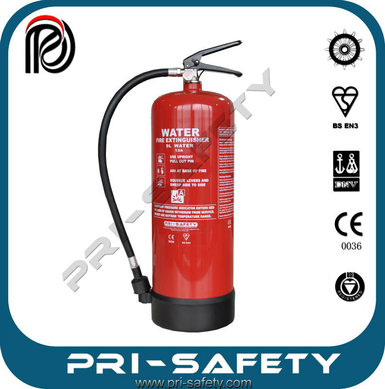 2L foam/water Portable fire extinguisher with car bracket