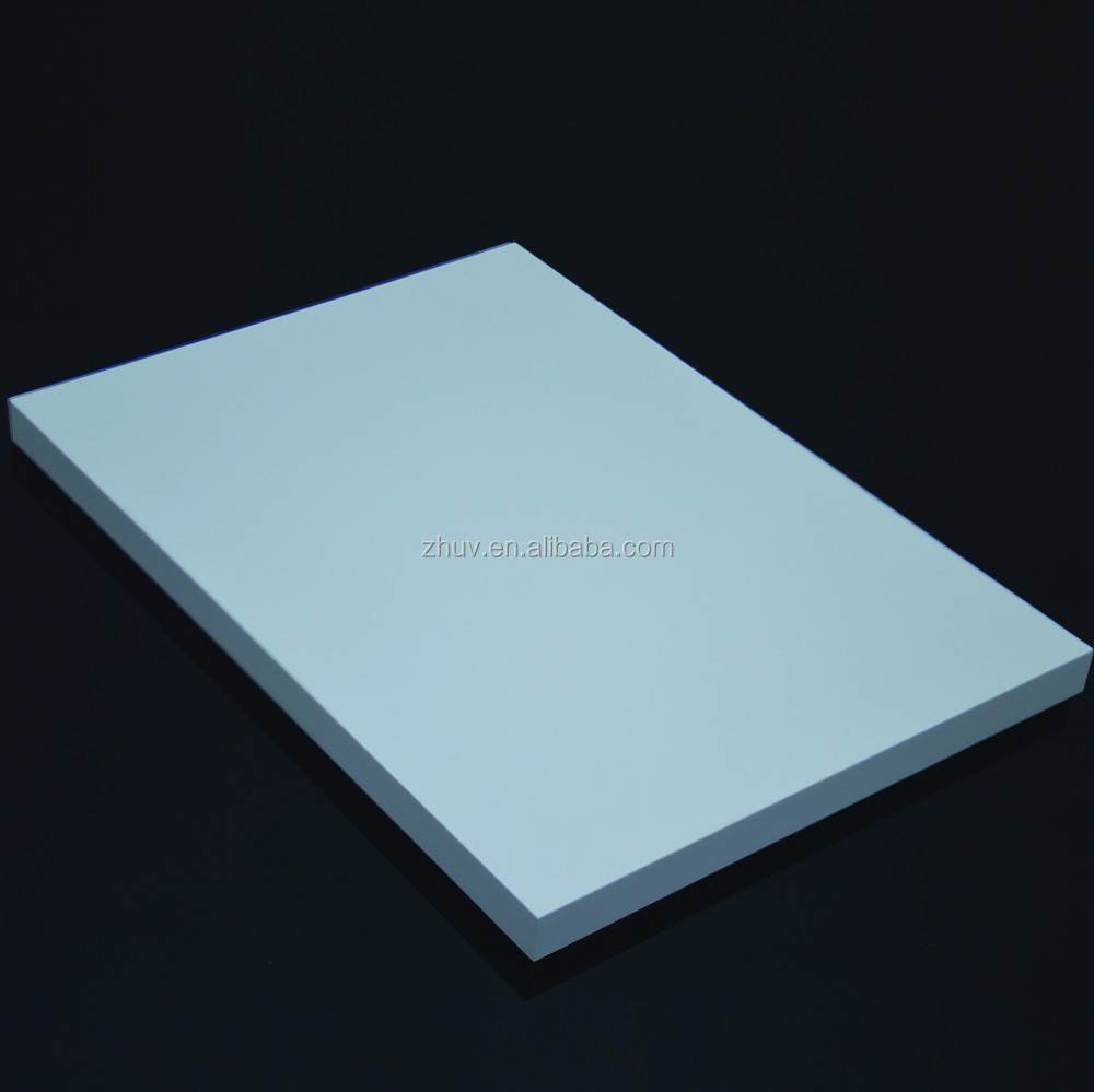 High glossy and Euro quality PETG film laminated kitchen cabinet door board