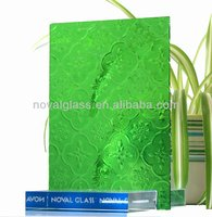 safely tinted partition wall glass/ colored pattern glass