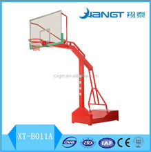 Outdoor basketball goal post stand for sale
