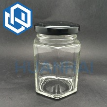 200 ml Lead Free Glass Food Storage Jars Glass Pickles Jars