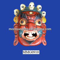 Best price ceramic Asian colorful cool masks for sale