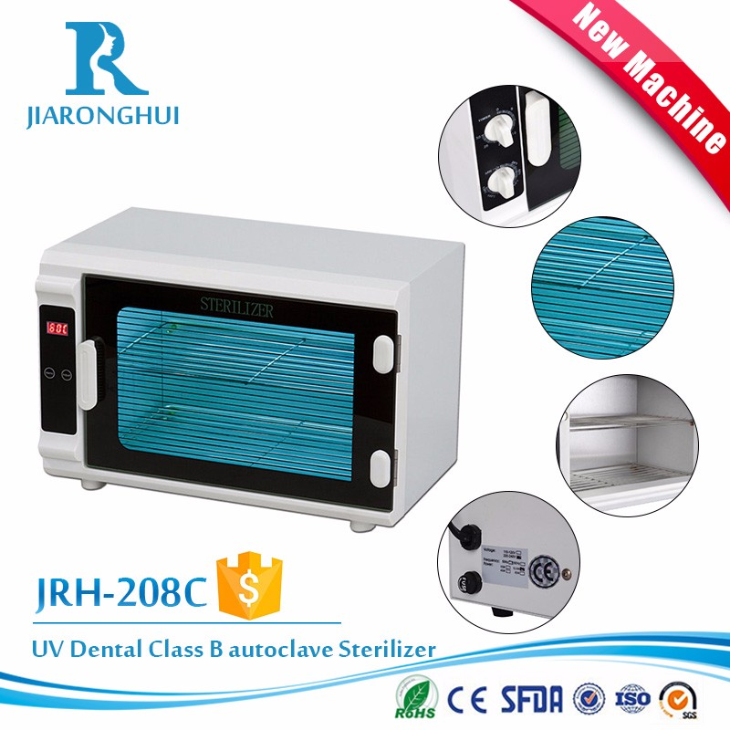 fda certificated autoclave dental uv sterilizer box
