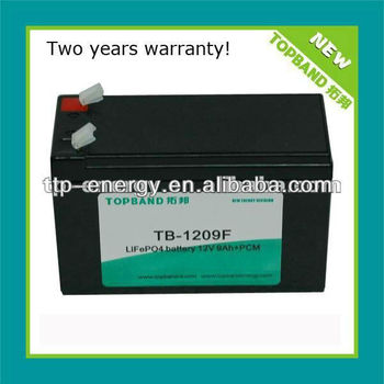 ODM/OEM 12v 9ah battery for solar lighting/UPS