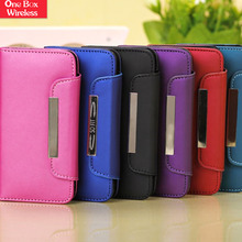 Good Quality Flip Stand Leather Case for iPhone 5C UV Printing Blank Phone Case