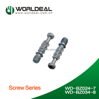 Zinc alloy connecting fitting bolt and cam screw