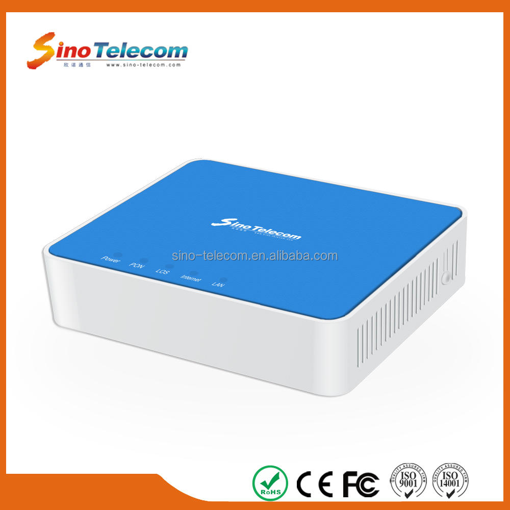 Sino-Telecom 1G Fiber Optic Bridge ONU GPON Modem