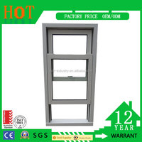 High Quality Hung Window PVC Sliding Window and Doors American Style PVC Hung Window Upvc Profile