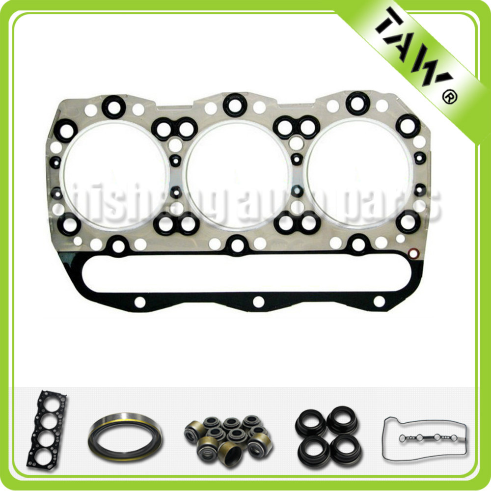 3 cylinder engine head gasket set kit for Mitsubishi 6D40 made in China
