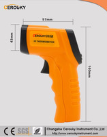 Industrial water temperature body non contact ambient temperature digital infrared thermometerCR305B