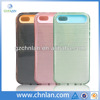 2014 New fashion dual color hybrid pc silicone cellphone case for iphone 5