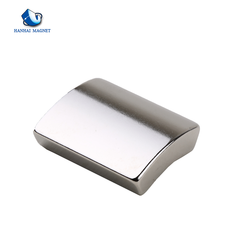 N38 Neodymium Arc Shape Motor Magnets
