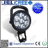 2200lm cree led work light 4x4 cars accessories 35w automobile ,jeep,trucks led driving light off road