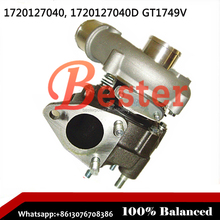 GT1749V turbo 17201-27040 801891-0001 721164-0004 721164-0006 Turbocharger for Toyota Rav 4 1CD-FTV