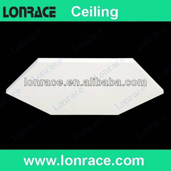 acoustic insulated gypsum ceiling tile