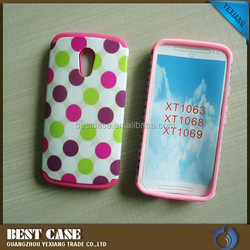 fancy combo case cover for motorola moto g2